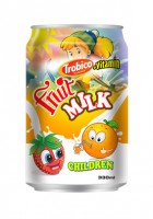 Fruit milk 330 ml for children
